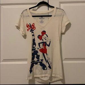 Epcot Minnie Mouse Paris T-shirt